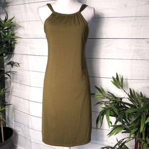 Athleta Olive Green Kokomo Swim Dress - M